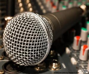 Układanka Mikrofon i mikser