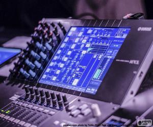 Układanka Mikser audio konsoli