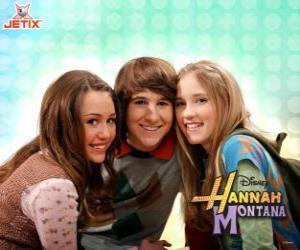 Układanka Miley Stewart i jego przyjaciele