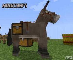 Układanka Minecraft jazda