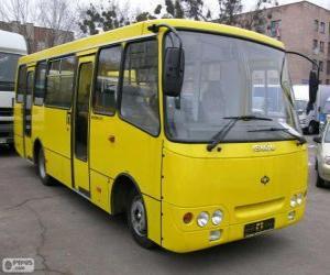 Układanka Minibus Isuzu Bogdan A092