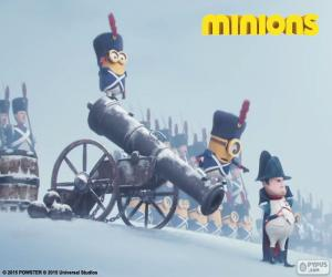 Układanka Minionki i Napoleon