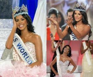 Układanka Miss World 2011 Ivian Lunasol