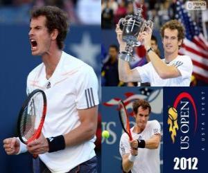 Układanka Mistrz Andy Murray nas US Open 2012