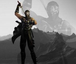 Układanka Mistrz ninja