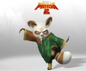Układanka Mistrz Shifu jest trenerem wszystkich wielkich wojowników kung fu w kraju.