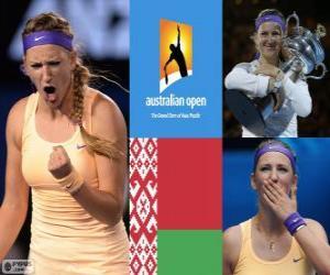 Układanka Mistrz Viktoria Azarenka Open Australia 2013