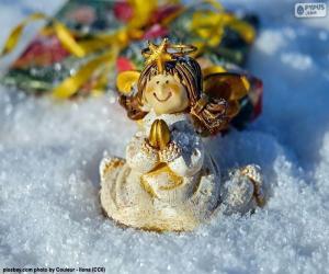 Układanka Modlitwa Anioł Boże Narodzenie