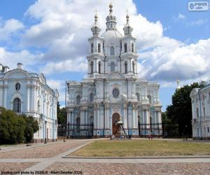 Układanka Monaster smolny, Rosja