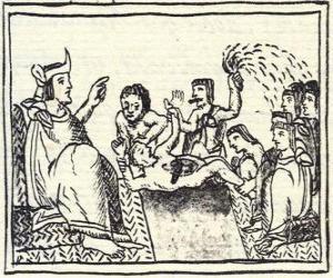 Układanka Montezuma na tronie. Huey Tlatoani linijki starożytni ludzie Azteków