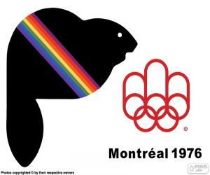 Układanka Montreal Letnich Igrzyskach Olimpijskich 1976