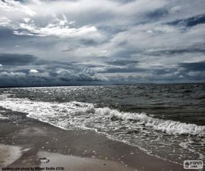 Układanka Morze Bałtyckie Plaża