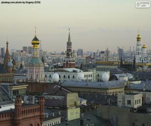 Układanka Moscow City Centre, Rosja