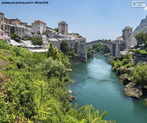 Układanka Mostar, Bośnia i Hercegowina