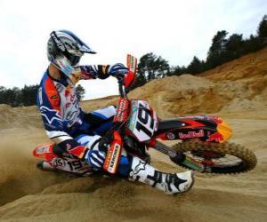 Układanka Motocross