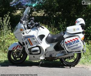 Układanka Motocykl policji, Rumunia