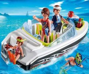 Układanka Motorówka Playmobil