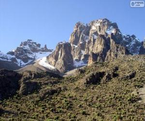 Układanka Mount Kenya, Kenia
