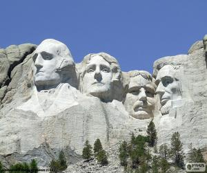 Układanka Mount Rushmore, Stany Zjednoczone