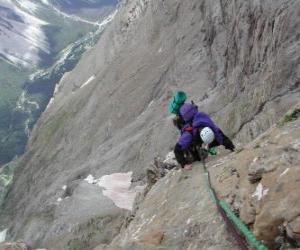 Układanka Mountaineer skalowanie szczyt