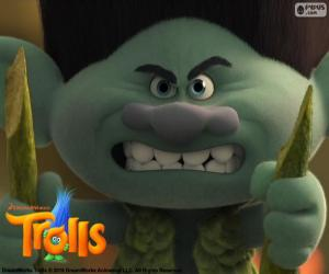 Układanka Mruk, paranoidalne troll
