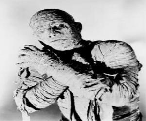 Układanka Mumia
