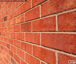 Układanka Mur z cegły