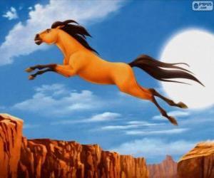 Układanka Mustang z Dzikiej Doliny