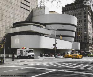 Układanka Muzeum Guggenheima w Nowym Jorku