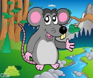 Układanka Mysz