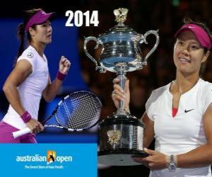 Układanka Na Li mistrz Otwórz Australia 2014