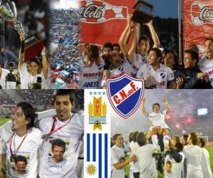 Układanka Nacional de Montevideo, Mistrzem Urugwaju Piłka nożna 2010-2011