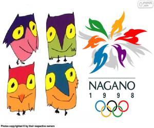 Układanka Nagano Zimowych Igrzyskach Olimpijskich 1998