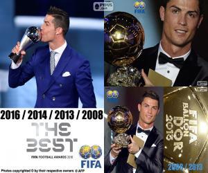 Układanka Nagrody graczy FIFA 2016