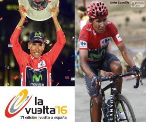 Układanka Nairo Quintana, Vuelta a España 2016