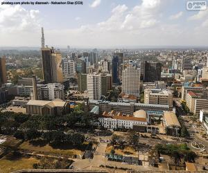 Układanka Nairobi, Kenia