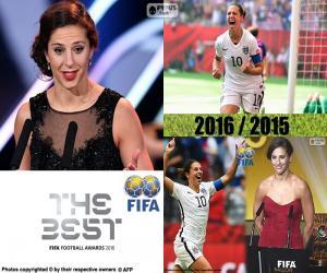 Układanka Najlepsza FIFA Women's Player 2016