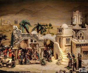 Układanka Narodziny Jezusa żłobie