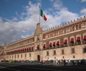Układanka National Palace, Meksyk