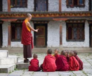Układanka Nauczyciel buddyjski