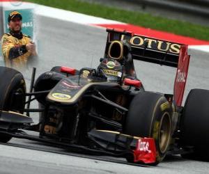 Układanka Nick Heidfeld - Renault - Sepang, Grand Prix Malezji (2011) (3 miejsce)