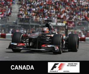 Układanka Nico Hülkenberg - Sauber - Circuit Gilles Villeneuve, Montreal, 2013