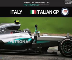 Układanka Nico Rosberg, G.P Włochy 2016