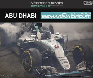 Układanka Nico Rosberg, Grand Prix Abu Zabi 2016