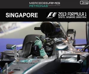 Układanka Nico Rosberg, Grand Prix Singapuru 2016