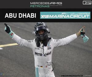 Układanka Nico Rosberg, mistrza F1 2016