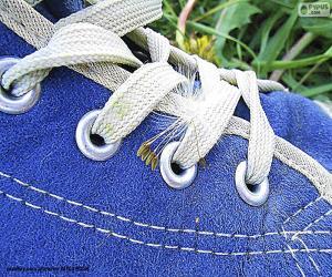 Układanka Niebieskie buty