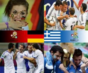 Układanka Niemcy - Grecja, ćwierćfinałowe, Euro 2012