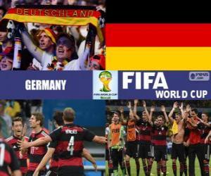 Układanka Niemcy obchodzi jego klasyfikacja, Brazylia 2014