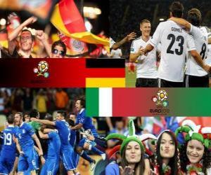 Układanka Niemcy - Włochy, półfinały Euro 2012